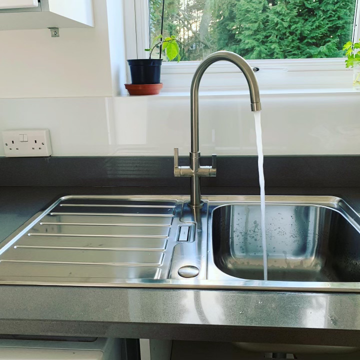 new sink and tap